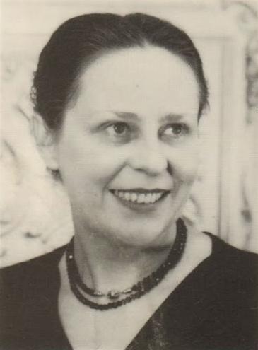 Isolde AHLGRIMM, probablement dans les années 1950, photo de presse Philips, cliquer pour une vue agrandie