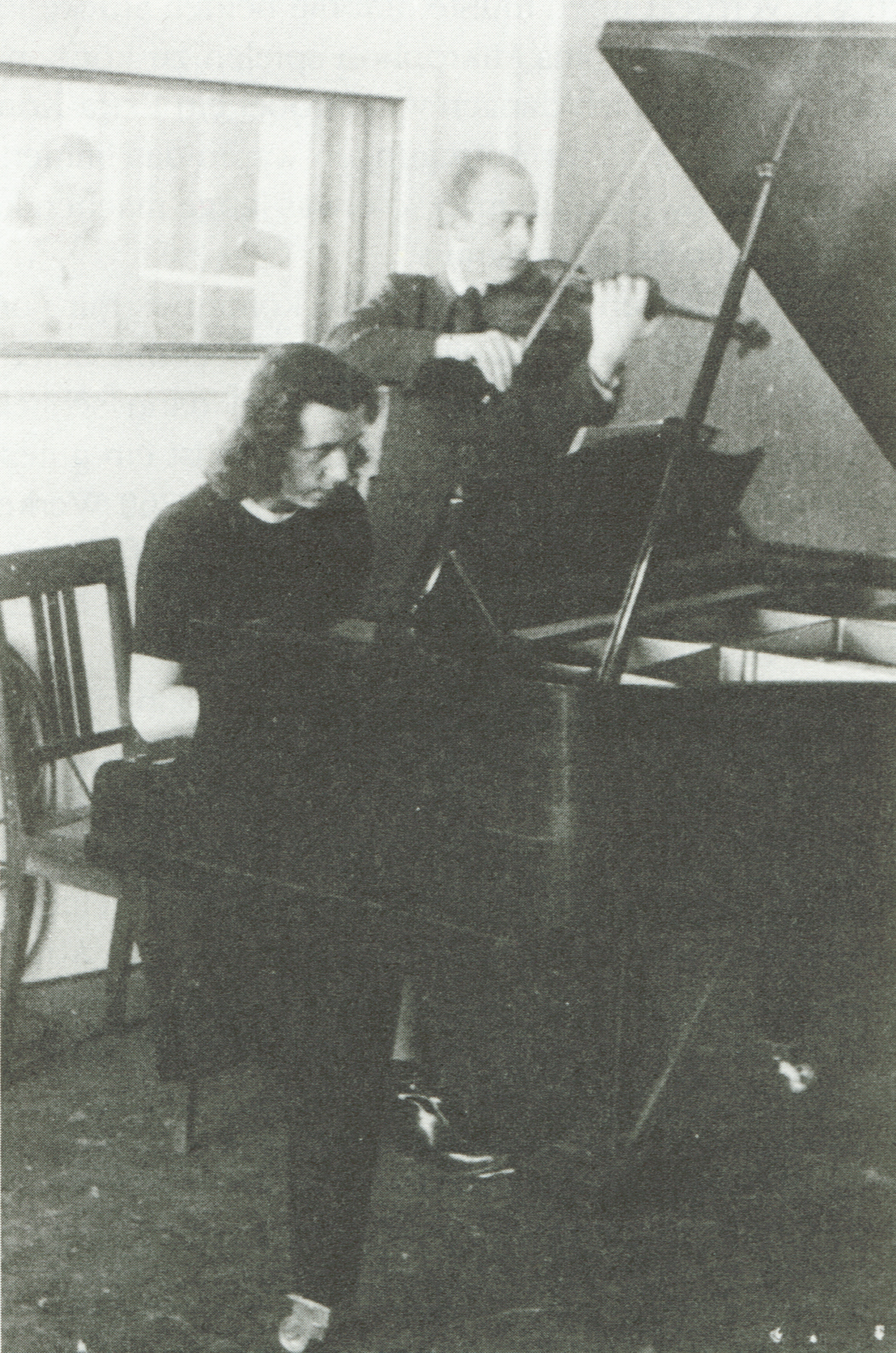 Maria BERGMANN et Ludwig BUS en 1946, Cliquer sur la photo pour une vue agrandie et quelques infos