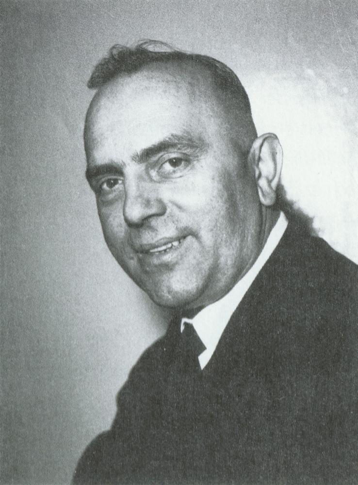 Karl FORSTER en 1955, Cliquer sur la photo pour une vue agrandie et quelques infos