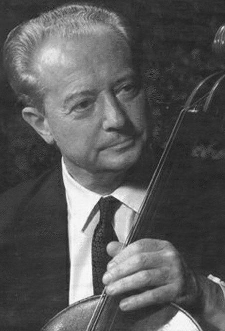 Pierre FOURNIER, photo de presse DECCA
