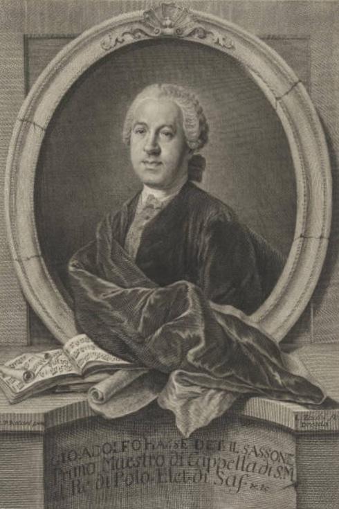 Johann Adolf HASSE, Cliquer sur la photo pour une vue agrandie
