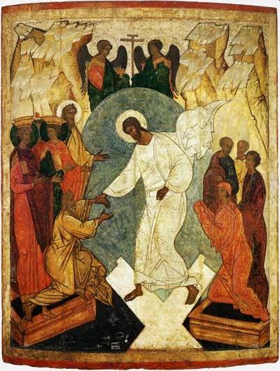 Fête de Pâque, Résurrection, Jésus apparaît à ses disciples