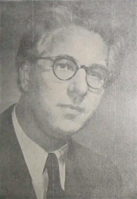 Georg Ludwig JOCHUM vers 1955, extrait d'un programme de concert
