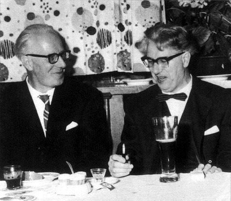 Otto JOCHUM avec son frère cadet Georg Ludwig