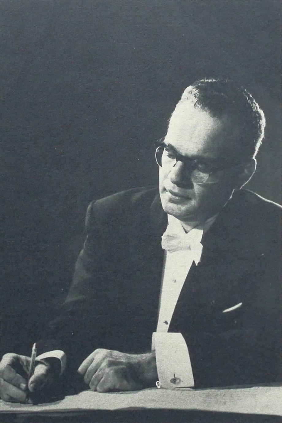 Julius KATCHEN, portrait publié entre autres dans la pochette du disque Decca BEC 119 001, Cliquer sur la photo pour une vue agrandie