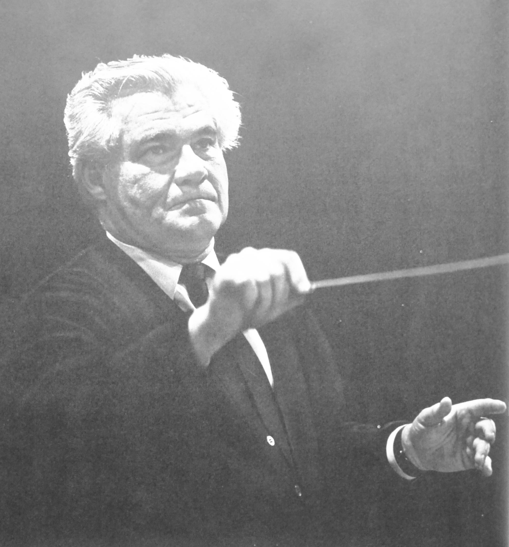 Joseph KEILBERTH, portrait paru entre autres dans le livret du disque DGG 2709 013, cliquer pour une vue agrandie