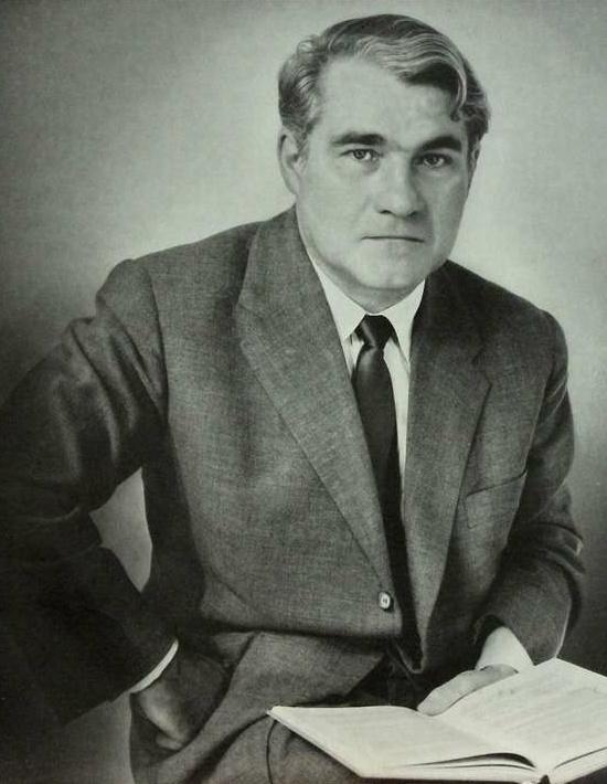 Joseph KEILBERTH, portrait paru entre autres sur la pochette du disque Telefunken SLT 43043, cliquer pour une vue agrandie