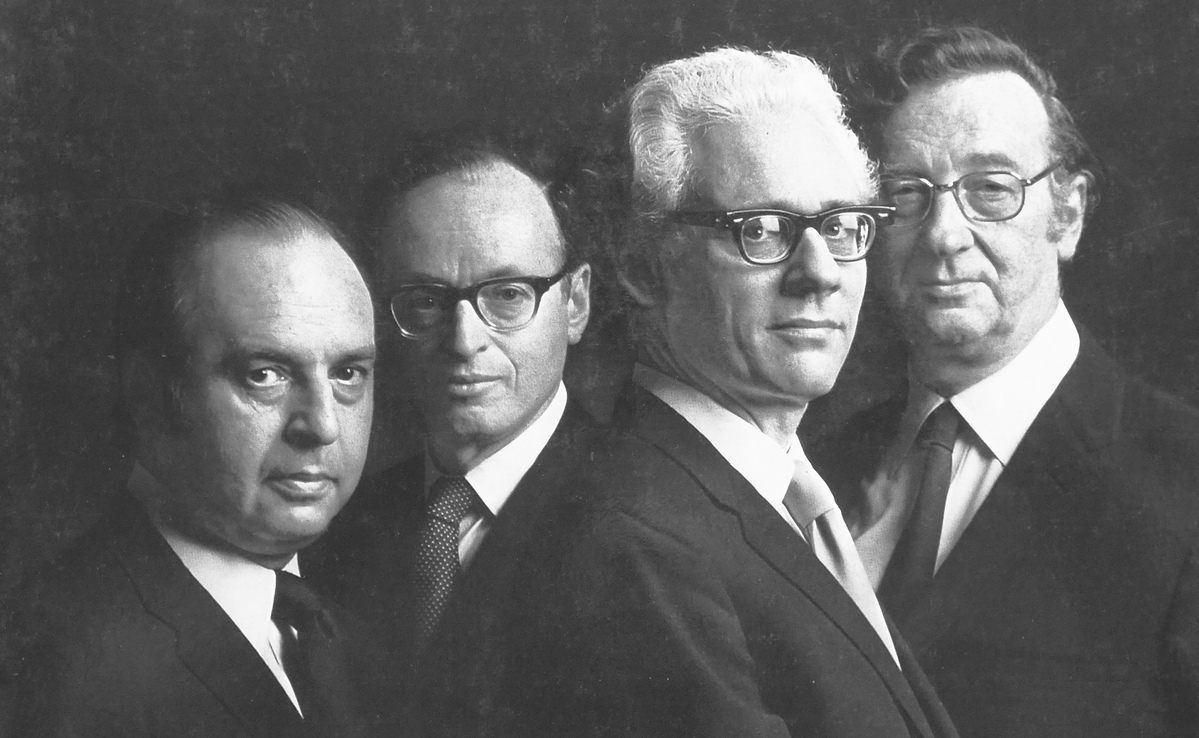Quatuor LaSalle au début des années 1970