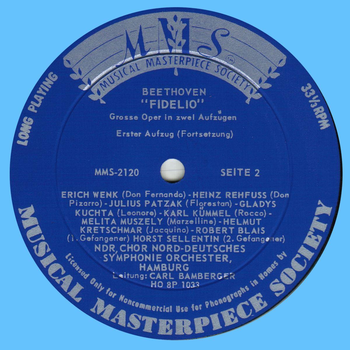 MMS-2120, Étiquette 1er verso