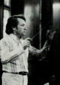 Othmar MAGA, portrait du début des années 1970 publié entre autres dans la pochette du disque VOX 36043