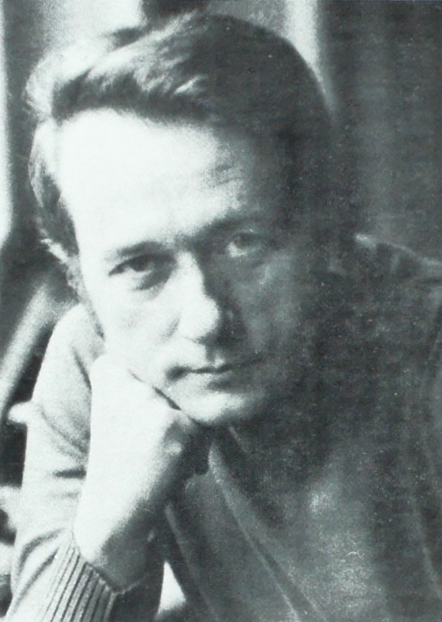 Othmar MAGA, portrait du début des années 1970 publié entre autres au verso de la pochette du disque VOX STPL 513 460, Cliquer sur la photo pour une vue agrandie