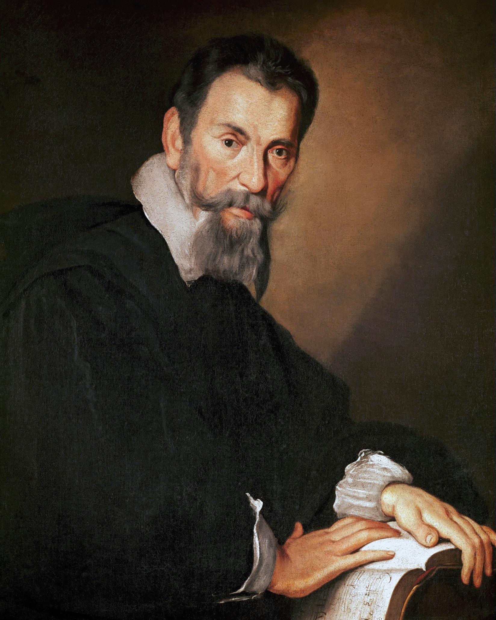 Claudio MONTEVERDI, une peinture de Bernardo STROZZI, env. 1630, Cliquer sur la photo une vue agrandie et plus d'infos