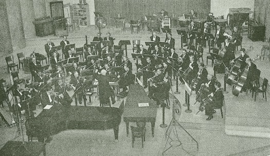 Le Grand Studio de Radio-Genève, OSR et Ernest Ansermet