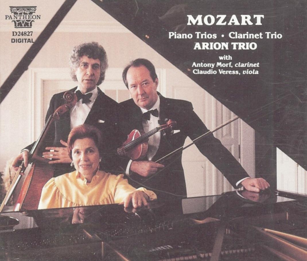 Igor OZIM, violoniste du Trio Arion avec Ilse von ALPENHEIM et Walter GRIMMER, Cliquer sur la photo pour une vue agrandie et quelques infos