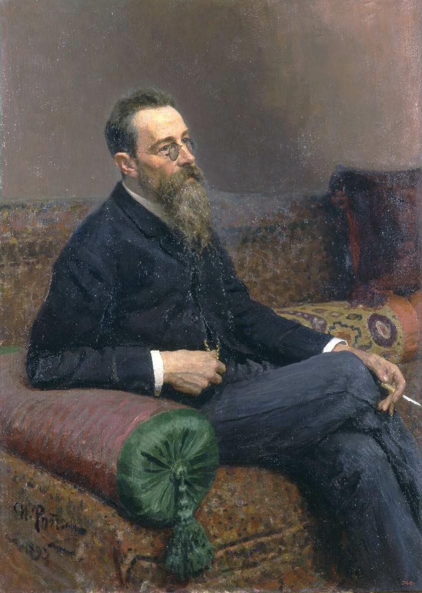 Nikolai Rimski-Korsakow, une peinture d'Ilya Repin