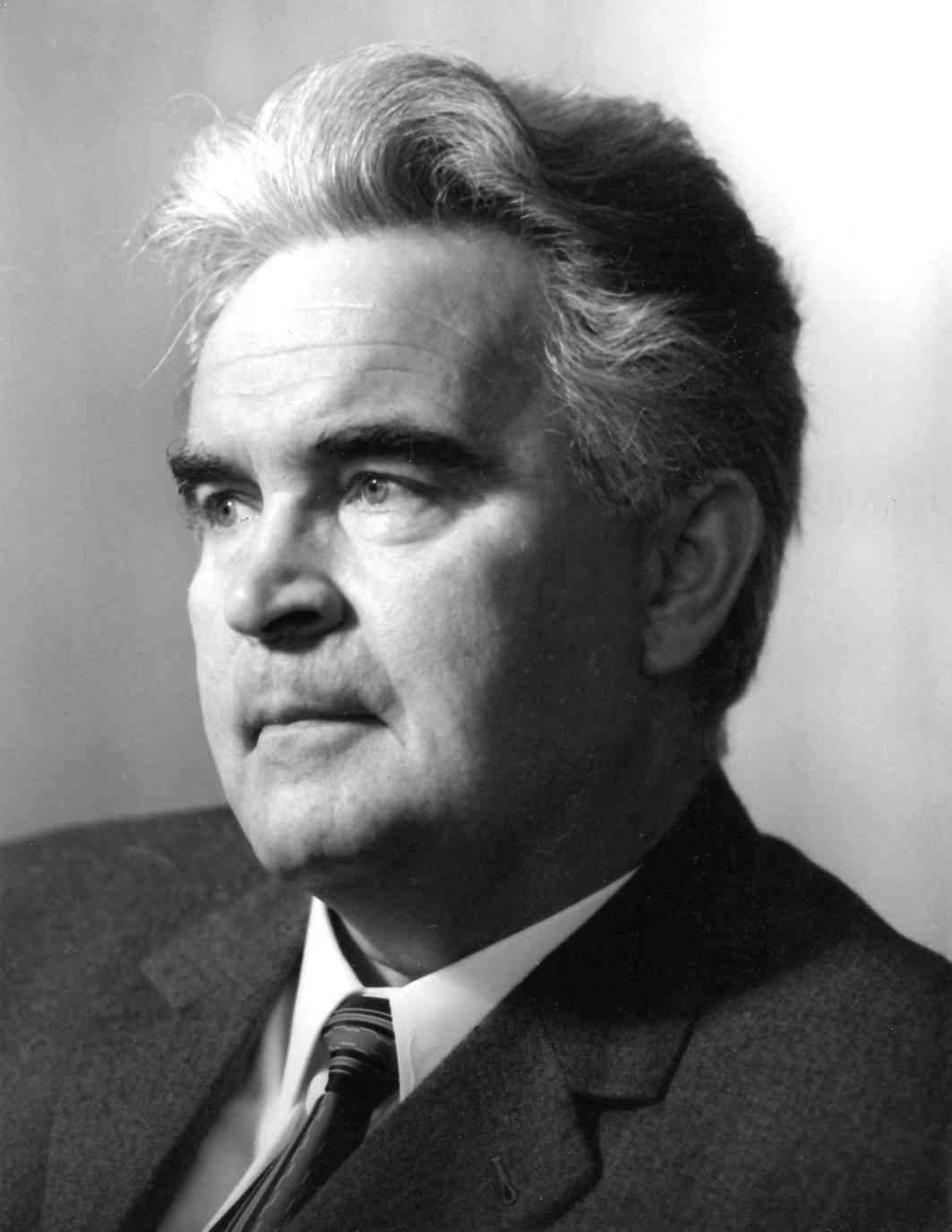 Wilhelm SCHÜCHTER, 1968, photo de la collection Harry Schultz / Dortmunder Theatersammlung