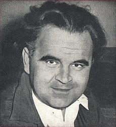 """Wilhelm SCHÜCHTER, un portrait fait par Curt ULLMANN, publié entre autres sur la pochette du disque """"La voce del padrone QDLP 6047"""", Cliquer sur la photo pour une vue agrandie"""