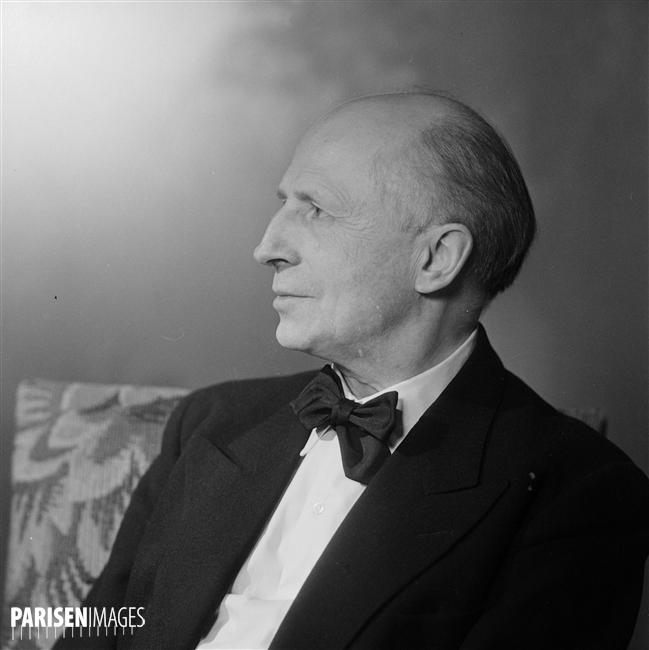 Carl SCHURICHT, Paris, avril 1949, Numéro d'image: 73308-13, Numéro d'inventaire: LIP-2324-024, © Roger-Viollet, Boris Lipnitzki, site PARISENIMAGES