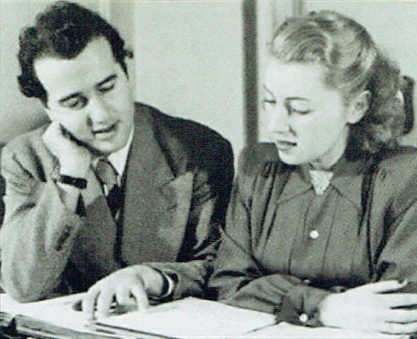 Léopold SIMONEAU et Pierrette ALARIE, son épouse, Cliquer sur la photo pour une vue agrandie et quelques infos