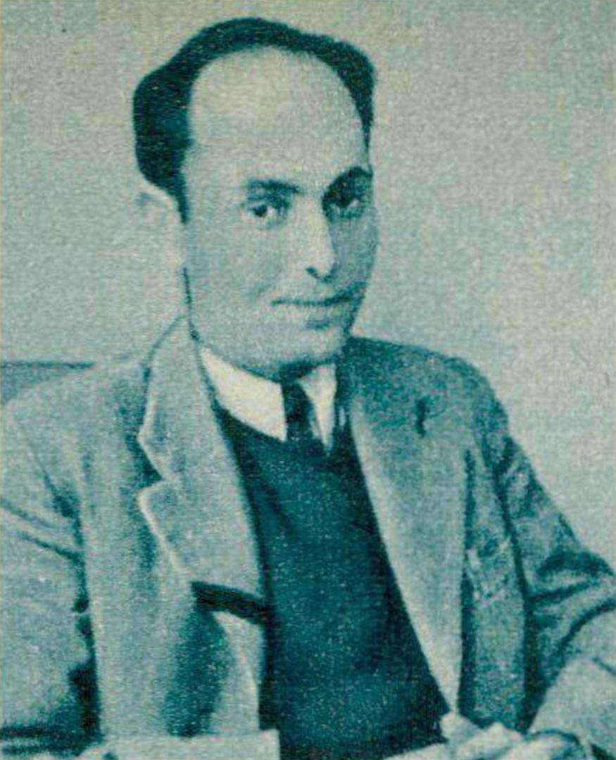 Georg Solti, une photo publiée entre autres dans la revue Radio TV Je vois tout du 29 janvier 1959, No 5, page 36