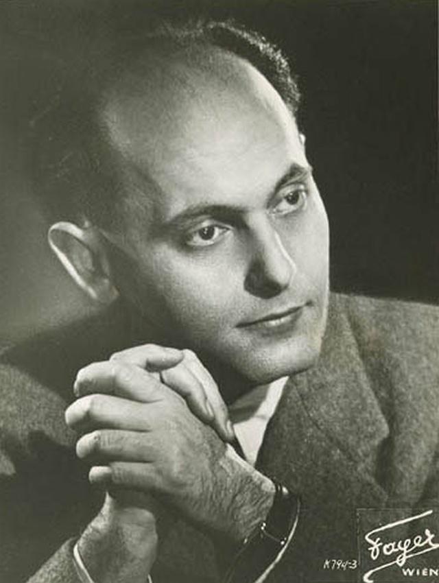 Georg SOLTI, portrait Fayer, cliquer pour une vue agrandie