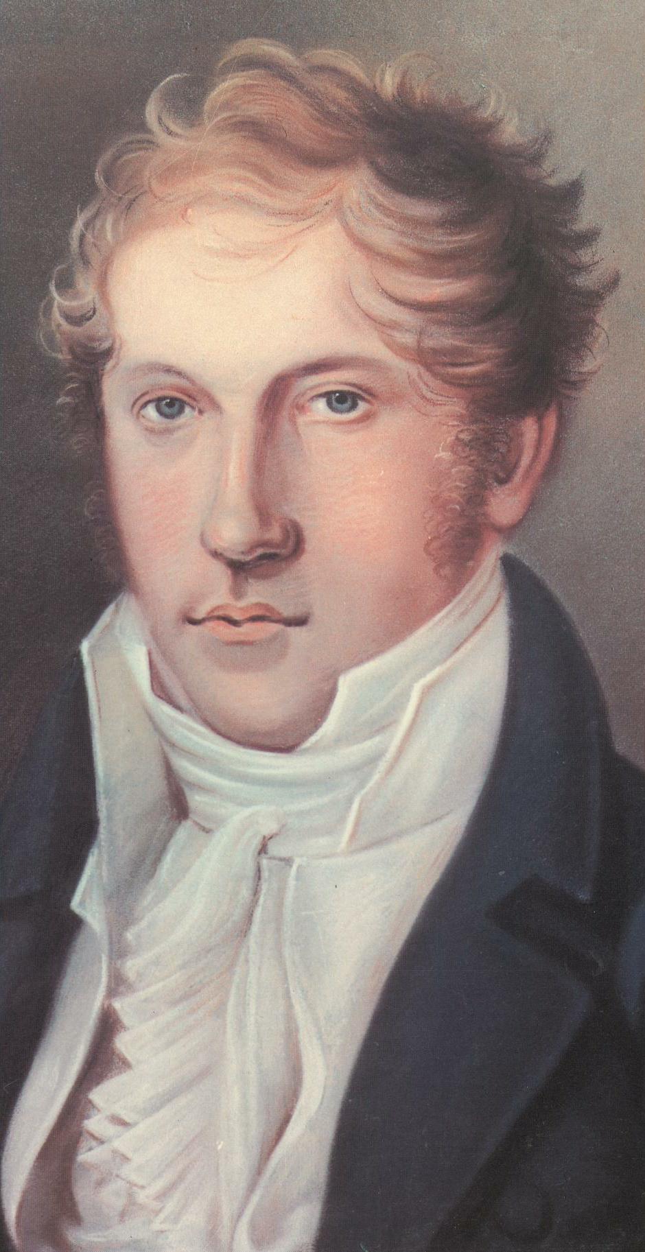 Le jeune Ludwig SPOHR, autoportrait, env. 1805, Cliquer sur la photo pour une vue agrandie