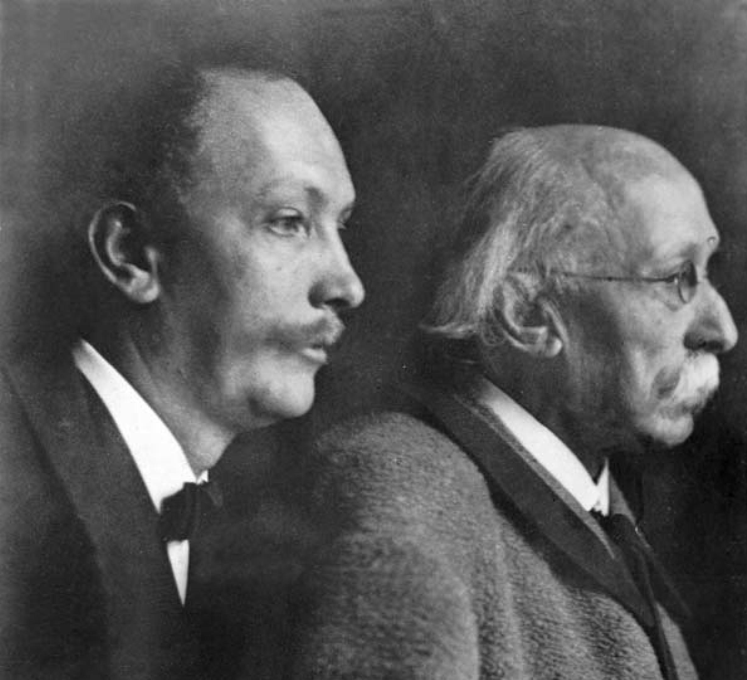 Franz et Richard STRAUSS vers 1901, Cliquer sur la photo pour une vue agrandie