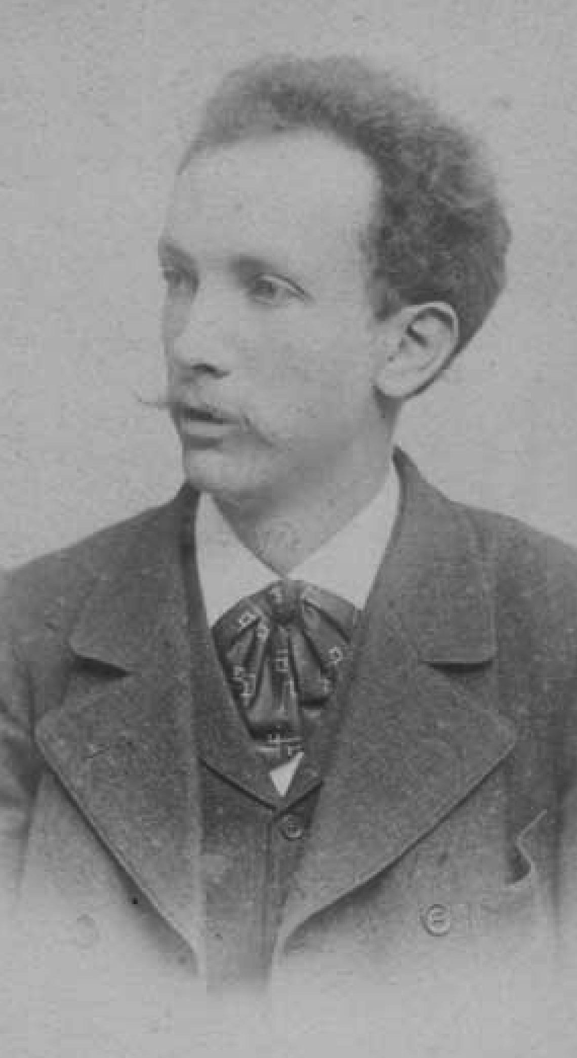 Richard Strauss vers 1890, cliquer pour une vue agrandie