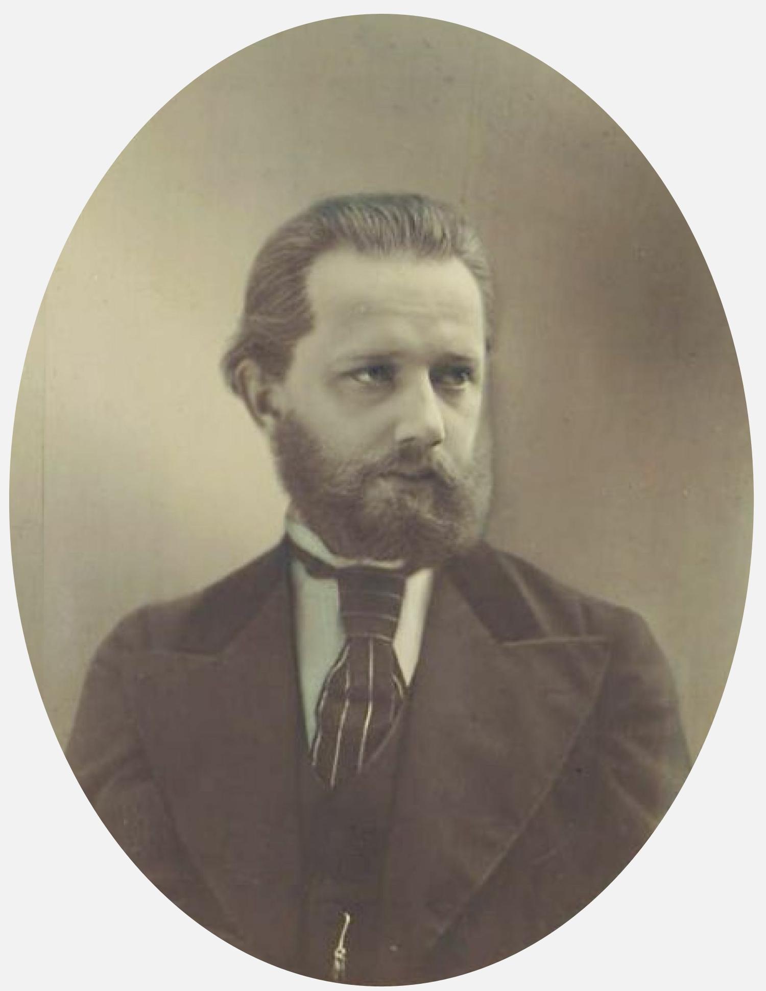 Portrait du jeune Peter TSCHAIKOWSKI fait par Michail Michailowitsch Panow (1836-1894), State P.I. Tchaikovsky Memorial Museum, Klin, clicquer pour une vue agrandie