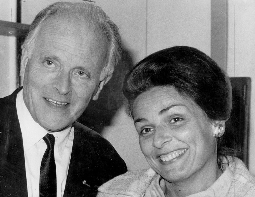 Willem van Otterloo avec son épouse (Susanne Maria Anna Wildmann), env. 1968, State Library of Victoria