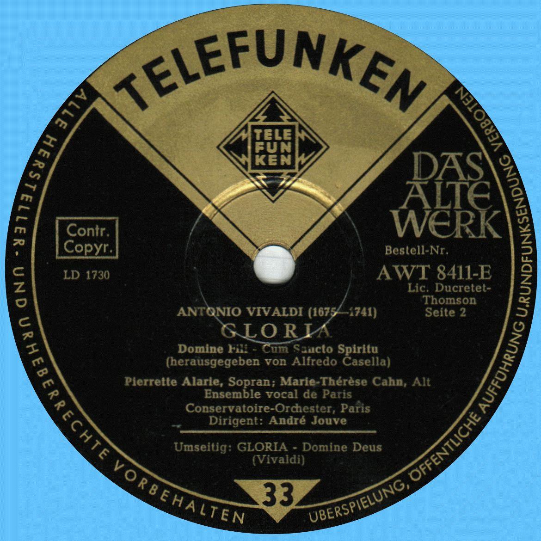 Telefunken AVT 8411 E Label 2 64C2FC