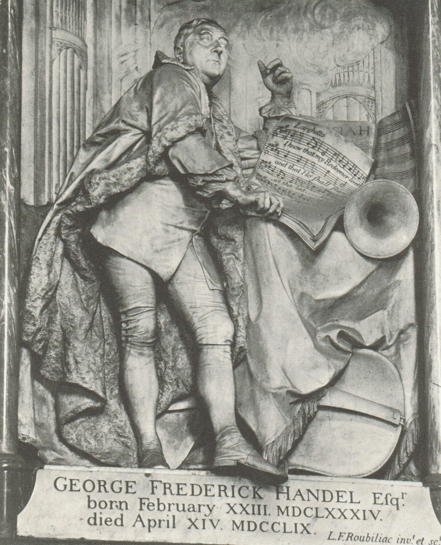 Georg_Friedrich HÄNDEL, Westminster Abbey, London