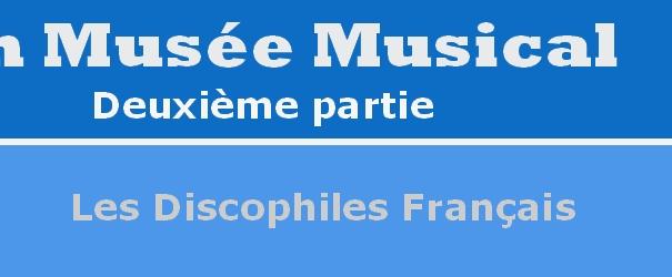Logo Abschnitt Les Discophiles Francais